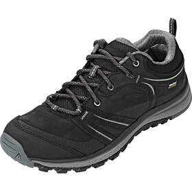 Keen Terradora Leather WP Shoes Damen black/steel grey
